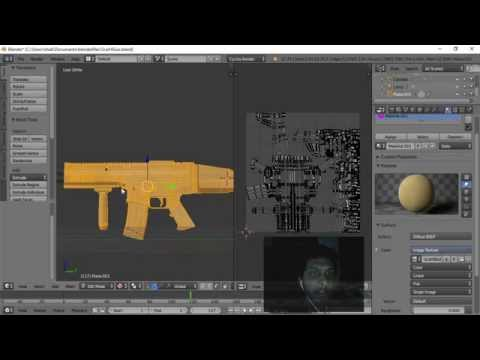 Creating Texture With Ambient Occlusion in Blender