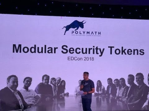 EDCON Ethereum Toronto Dev Conference Polymath's Adam Dossa Solidity Coder