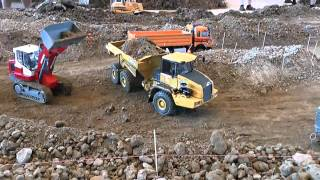 VERY BIG RC CONSTRUCTION ZONE! RC MACHINES WORK AT THE RC CONSTRUCTION SITE