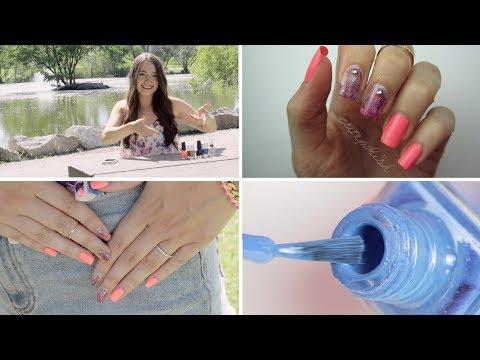 Drybrush Nail Art: No tools needed!