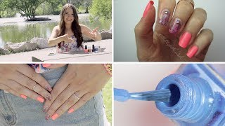 Drybrush Nail Art: No tools needed!