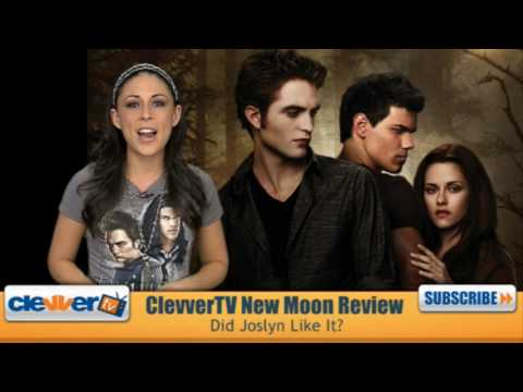 Official New Moon Movie Review - ClevverTV