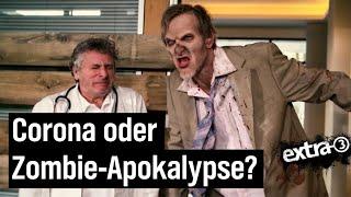 Ob Zombies oder Corona – Intensivmediziner bleiben ungehört