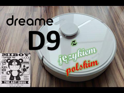 Dreame D9 z językiem polskim