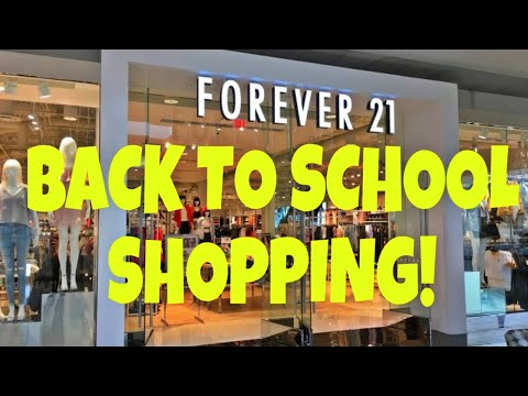 BACK TO SCHOOL SHOPPING WITH CHY/VLOG!!!!!!