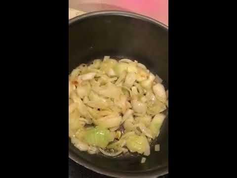 recette-diététique-simple-et-rapide-/-poireau,-miel-&-jambon