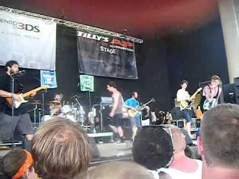 THUG CITY-Dance Gavin Dance (Warped Tour 2011 Indiana)
