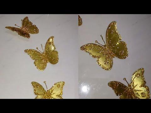 Mariposas doradas - golden butterflies