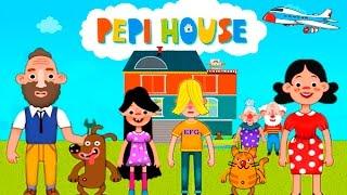 Детская ВЕСЕЛАЯ ИГРА как МУЛЬТИК Смешное видео для детей про семью Pepi House KIDS CHILDREN