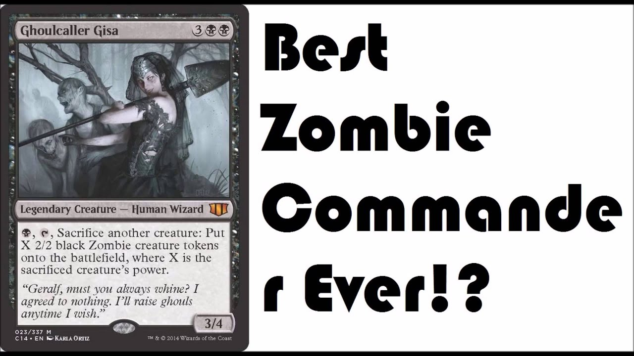 ghoulcaller gisa best zombie edh commander youtube