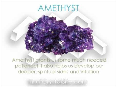 ... Traits Crystals and Birthstones for the Star Sign Aquarius - YouTube