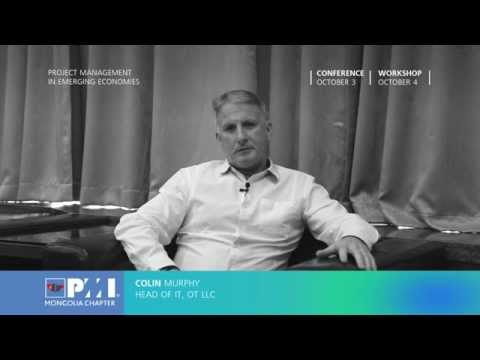"COLIN Murphy: ""Project Management In Emerging Economies"" Conference 2014"