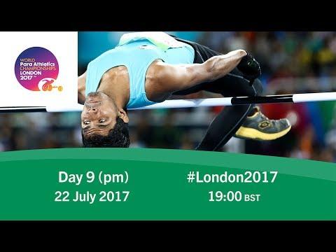 Day 9   Evening   World Para Athletics Championships London 2017