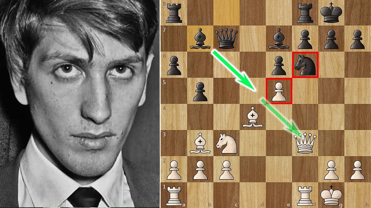 Bobby Fischer Crushed in a Simul (25 moves) - YouTube