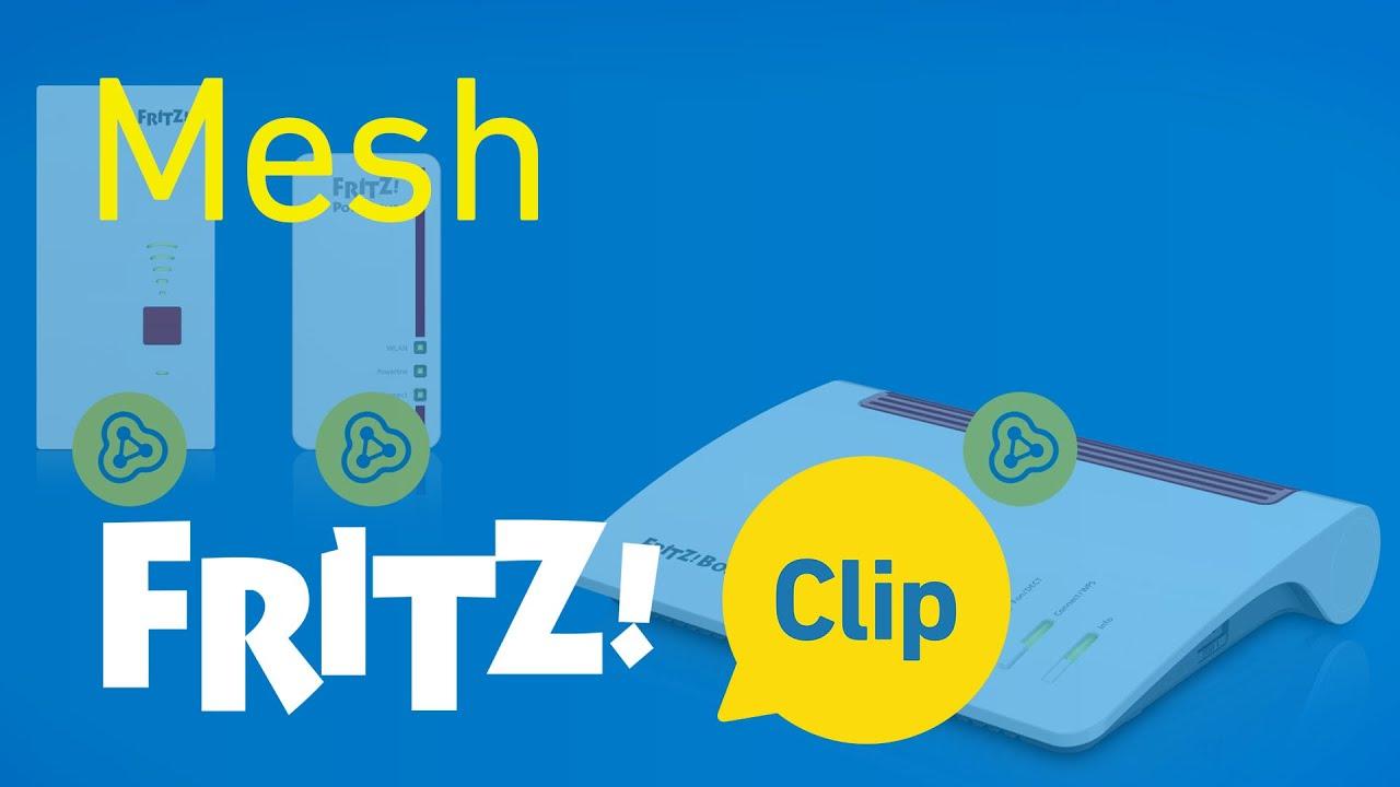 FRITZ! Clip – Élargir le WiFi avec Mesh