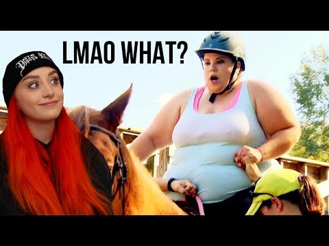 Too Big To Ride? CHILLEST HORSE TRAINER & More - Raleigh Reacts