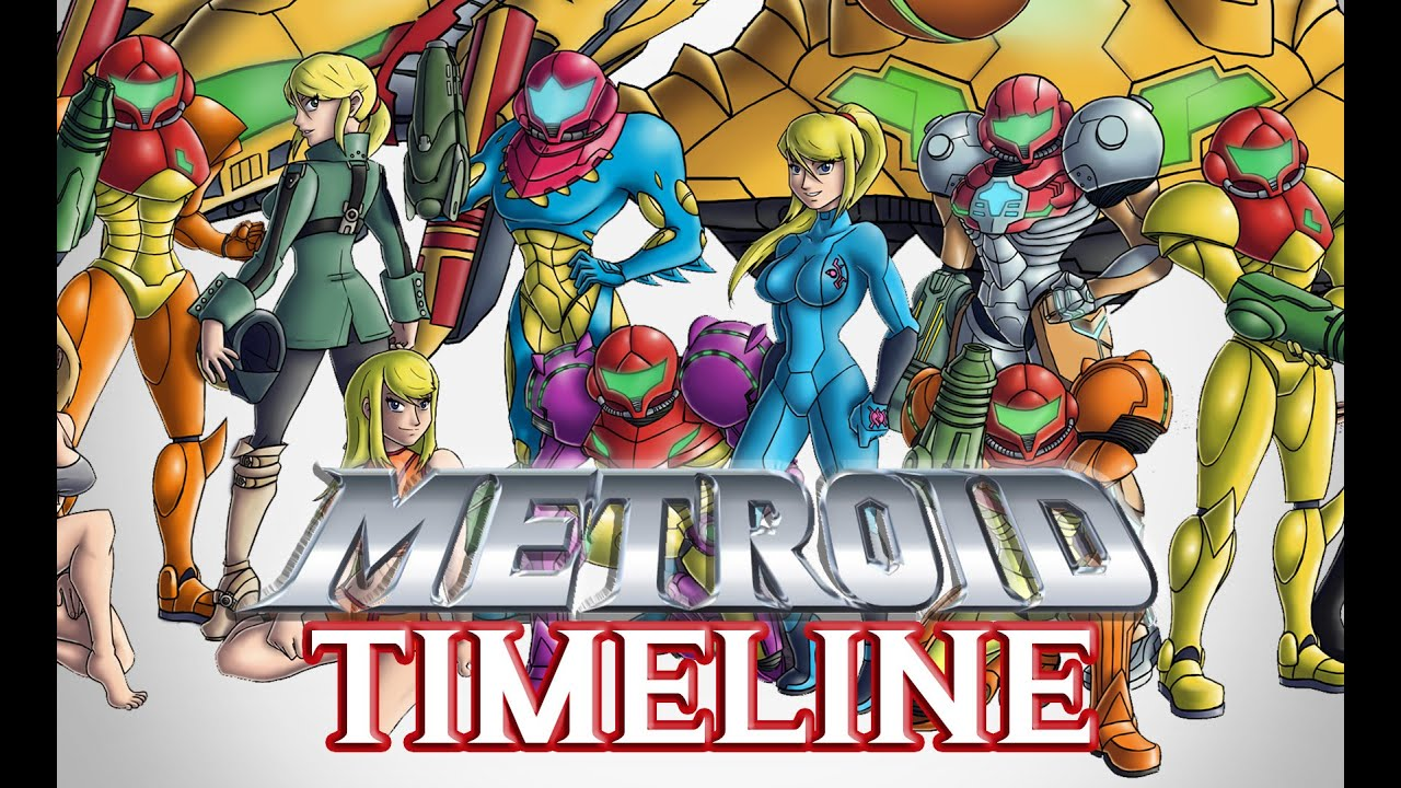 the complete metroid timeline 30th anniversary youtube