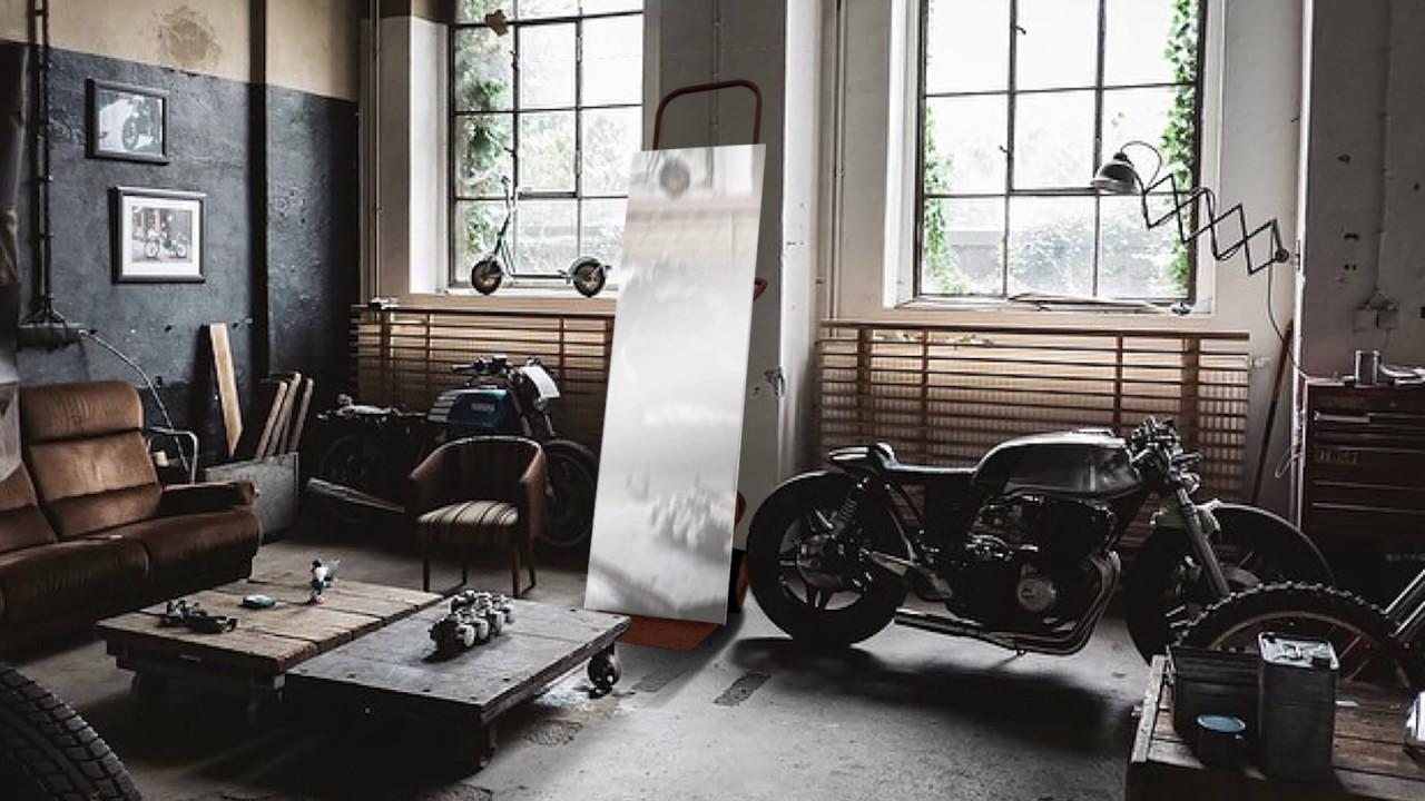 ancien mobilier de garage pour d co maison youtube. Black Bedroom Furniture Sets. Home Design Ideas