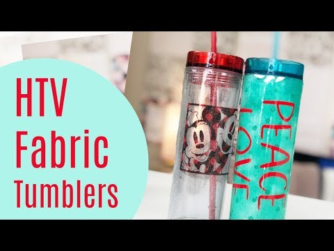 Fabric Heat Transfer Vinyl Tumbler