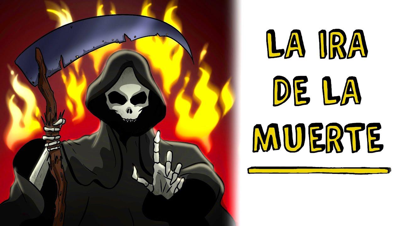 La ira de la muerte ☠️ Historia de Terror Draw My Life