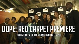 Dope Cast Red Carpet