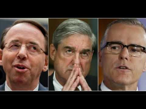 Robert Mueller, Andrew McCabe & Rod Rosenstein Now Tied to Massive Cover-Up and Bribery Allegations