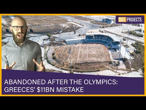 Abandoned After the Olympics: Greece's $11 Billion Mistake