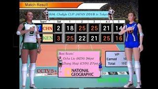 Rd4. China vs Kenya - Volleyball Women