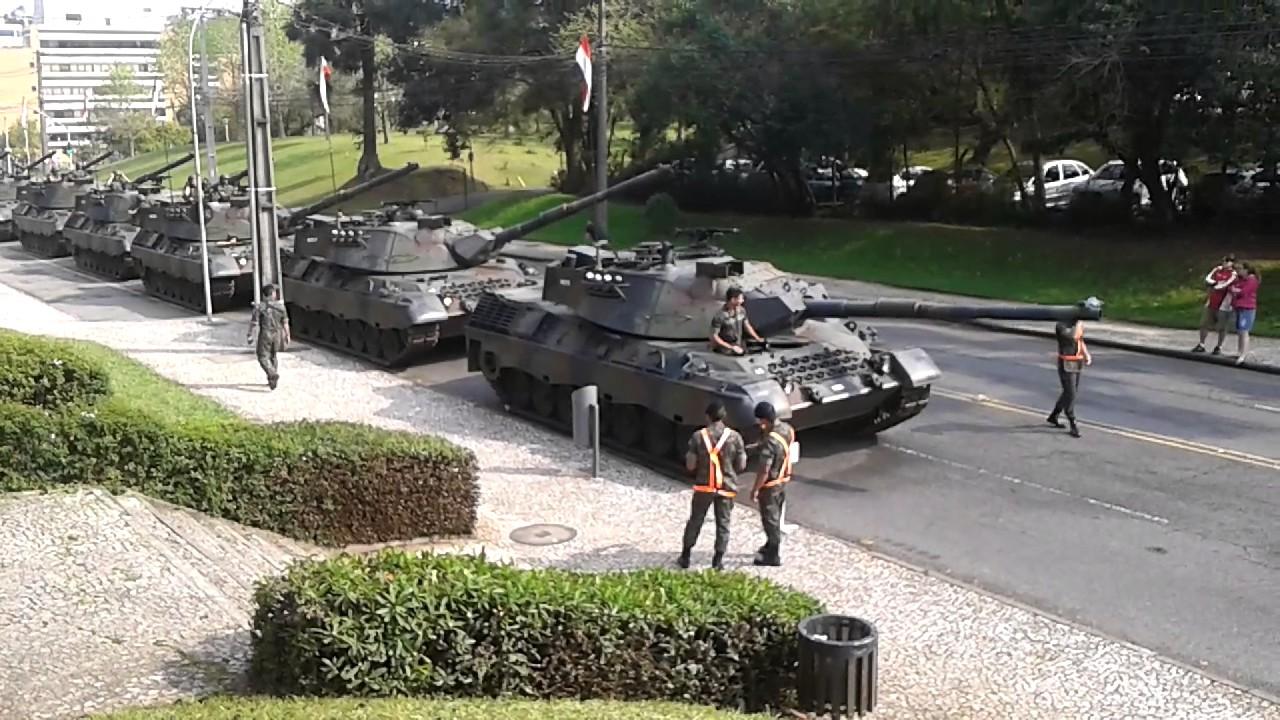 Leopard 1A5 Brazilian Tank - YouTube