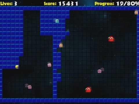 I play pacxon level 1-13 - YouTube