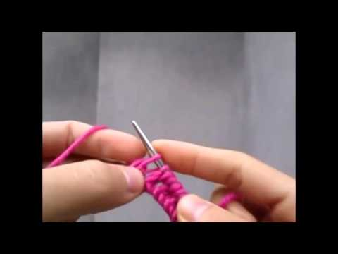 Học cách đan khăn len kiểu móc xích