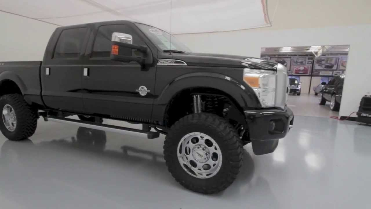 2013 Ford F 250 Platinum Custom Lifted Truck