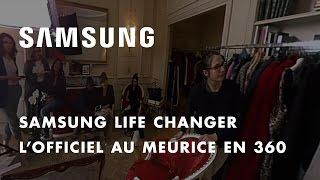 Samsung et L'Officiel présentent les coulisses des 95 ans de L'Officiel en 360° au Meurice