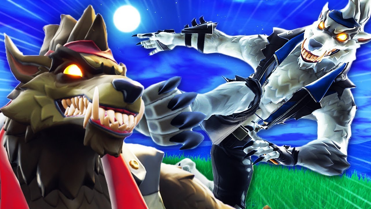 White Wolf Creation A Fortnite Film Clash Of The Werewolves