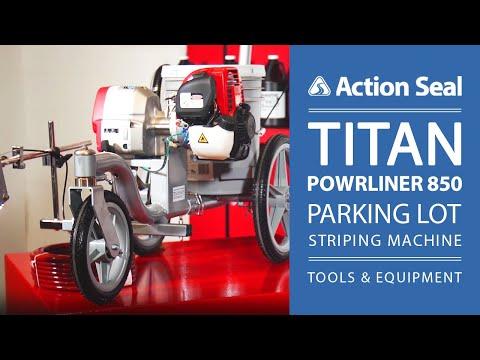 Titan PowrLiner 850 Parking Lot Striping Machine | Tools & Equipment | Action Seal