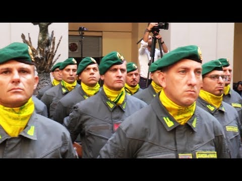 Napoli - Guardia di Finanza, celebrato 243° anniversario alla Caserma Zanzur (23.06.17)
