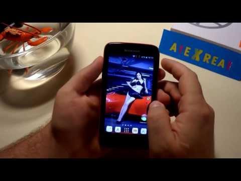 Lenovo S750 видео обзор [тест в воде] review waterproof IP67 Gorilla Glass Android 4.2 Full HD