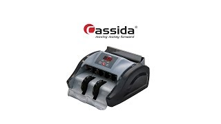 видео Счетчик банкнот Cassida 5510 UV