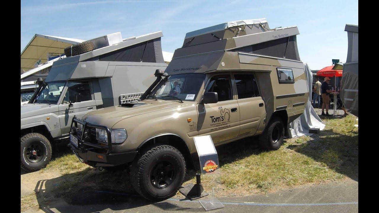 All Toyota Vehicles >> TOYOTA LAND CRUISER HDJ80 CAMPER 88 TOM´S WORLDCRUISER ! WALKAROUND + INTERIOR ! - YouTube