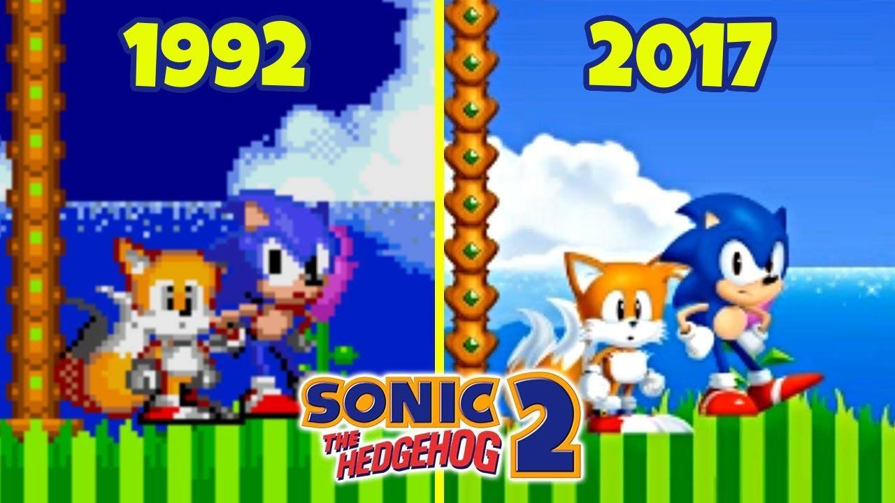 Fan Remake Comparison: Sonic 2 vs Sonic 2 HD - YouTube