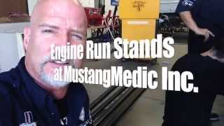 Building A Engine Run Stand By Mustangmedic For Sale - Day 1