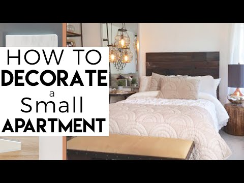 Interior Design | Decorate A Small Bedroom | Small Apartment | #12 Reality  Show   YouTube