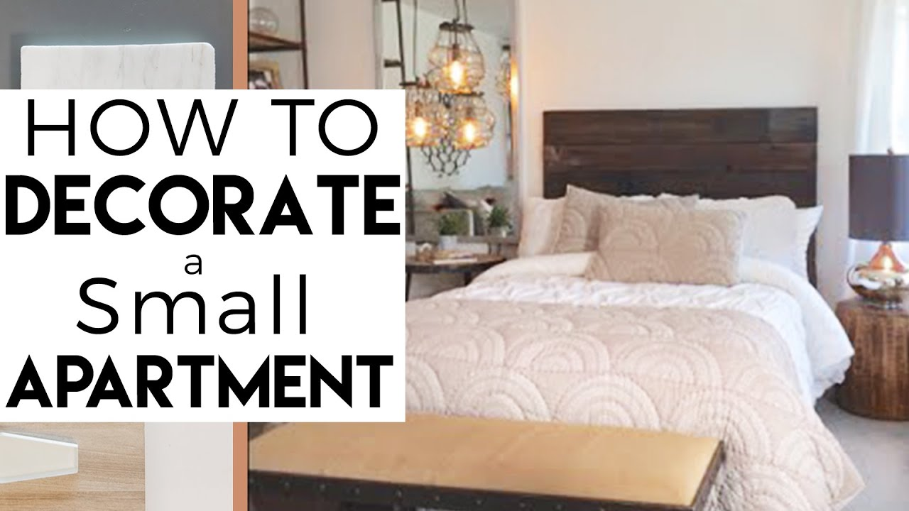 Interior Design Decorate A Small Bedroom Small Apartment 12 Reality Show Youtube