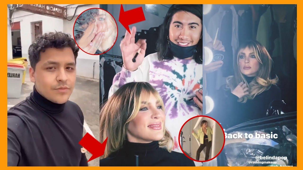 Maquillistas que se Enojaron con Christian Nodal le Hacen un Cambio de Look a Belinda / Maikell Show