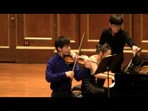 "Angelo Xiang Yu and Mei Rui - Beethoven ""Kreutzer"" Violin Sonata I. Adagio sostenuto - Presto"