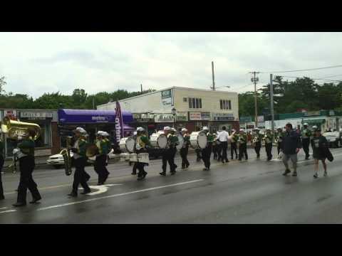 Green Machine-saint Patrick day parade Brentwood NY