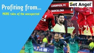Profiting from betting or betfair trading on MORE tales of the unexpected