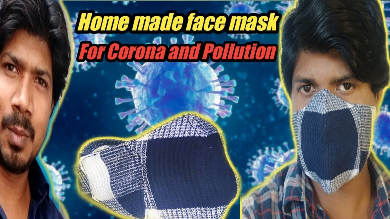 HAND MADE MASK FOR CORONA AND POLLUTION