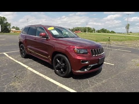 2016 Jeep Grand Cherokee Overland High Alude 4x4 Walk Around Video In Depth Review Test Drive