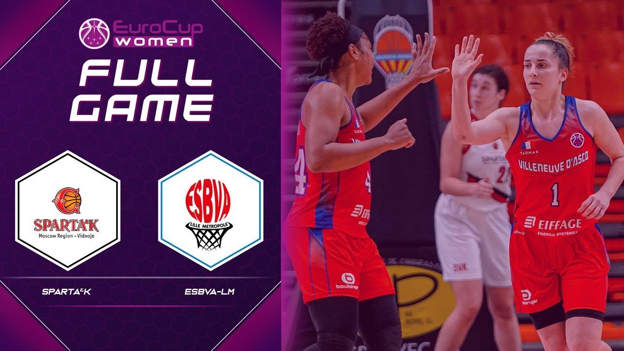 Sparta&k M.R. Vidnoje v ESBVA-LM | Full Game - EuroCup Women 2020